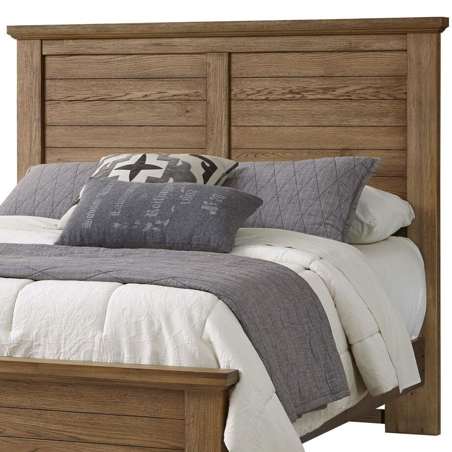 Vaughan Bassett Cassell Park King Plank Headboard - Item Number: 514-668