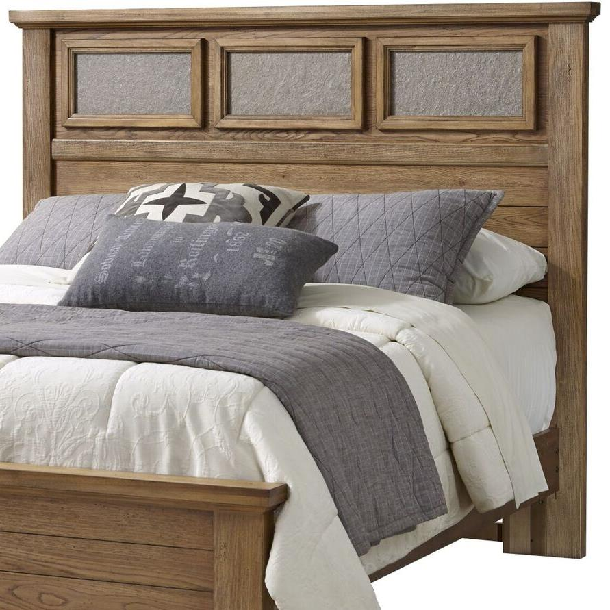 Vaughan Bassett Cassell Park King Tile Headboard - Item Number: 514-669