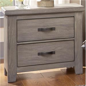 Vaughan Bassett Gramercy Park Night Stand - 2 Drawers