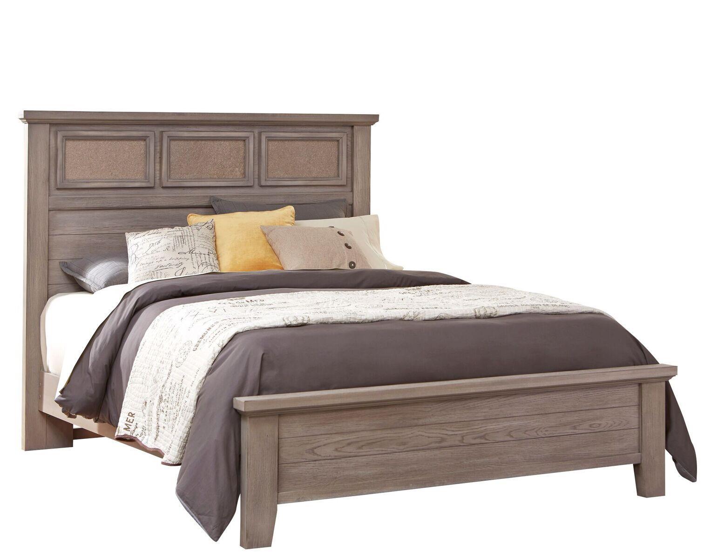 Vaughan Bassett Cassell Park Queen Tile Bed - Item Number: 516-559+855+922