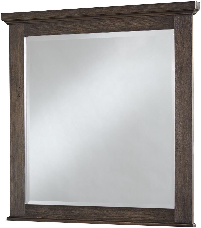 Vaughan Bassett Cassell Park Landscape Mirror - Item Number: 518-446