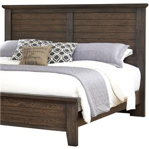 Full/Queen Plank Headboard
