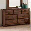 Vaughan Bassett Grayson Manor Dresser - Item Number: 192-003