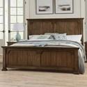 Vaughan Bassett Grayson Manor Queen Panel Bed - Item Number: 192-557+755+922