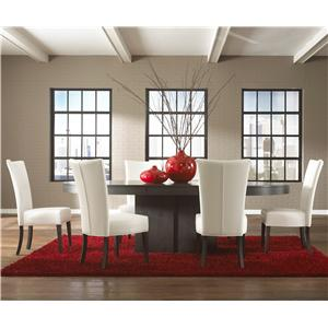Canadel High Style - Custom Dining <b>Customizable</b> Oval Table Set