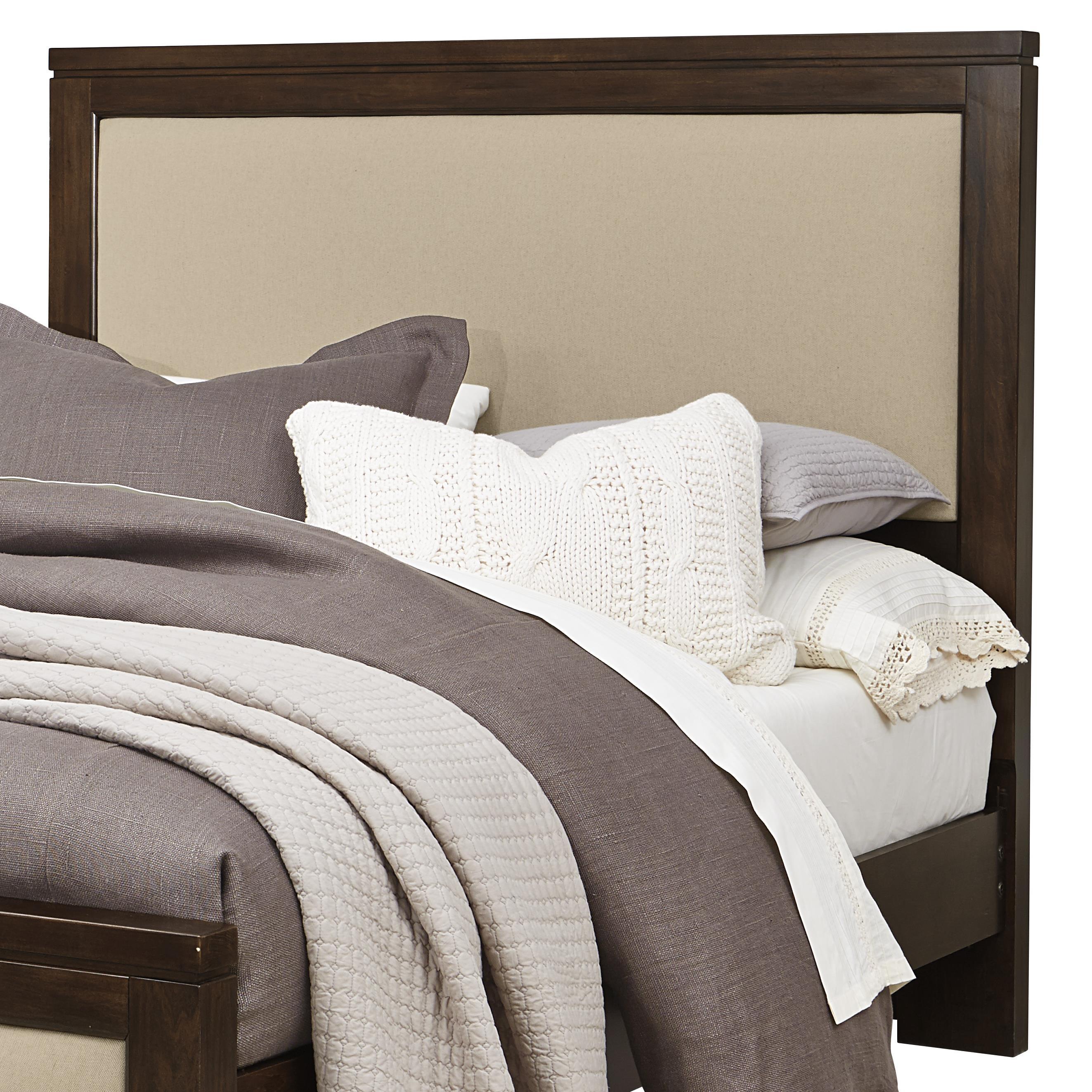 Vaughan Bassett Kismet King Upholstered Headboard, Base Cloth Linen - Item Number: 410-669