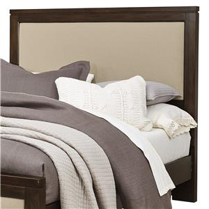 Vaughan Bassett Kismet King Upholstered Headboard, Base Cloth Linen
