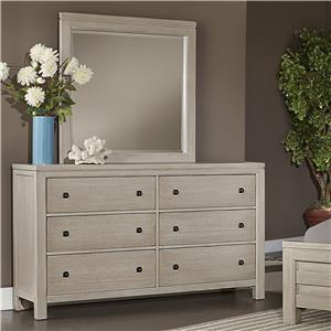 Vaughan Bassett Kismet Dresser & Mirror