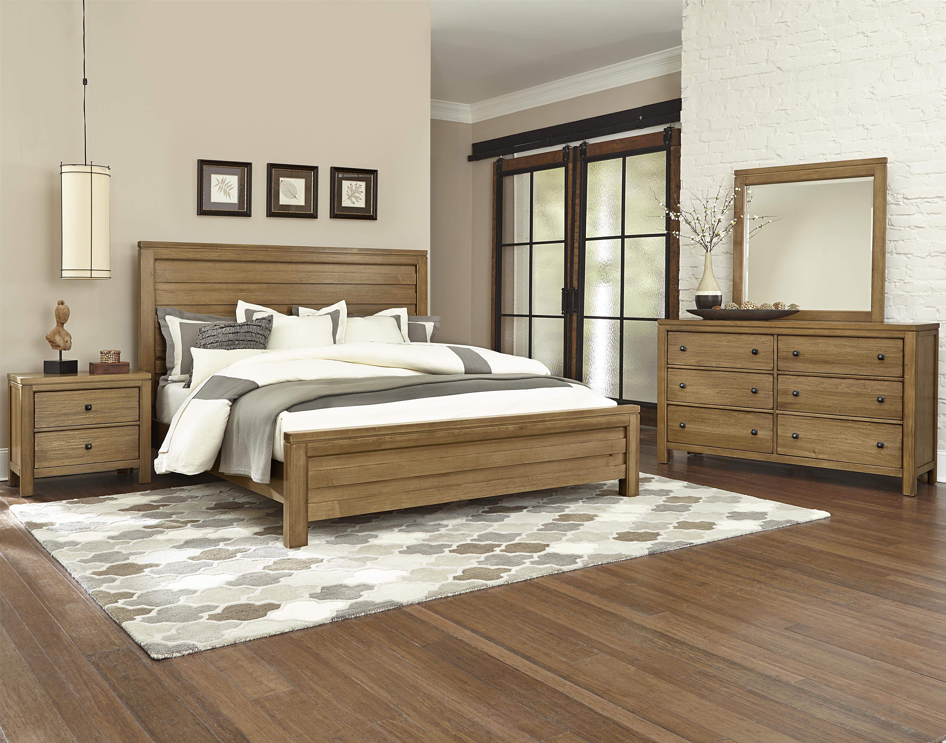 Vaughan Bassett Kismet Queen Bedroom Group - Item Number: 414 Q Bedroom Group 1