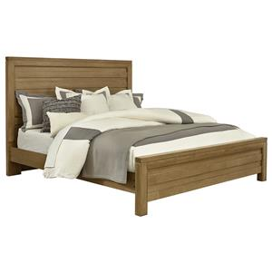 Vaughan Bassett Kismet Queen Planked Panel Bed