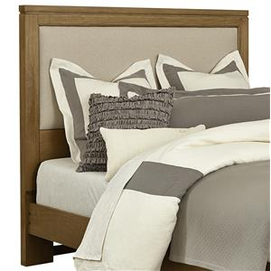 Vaughan Bassett Kismet Queen Uph. Headboard, Base Cloth Linen