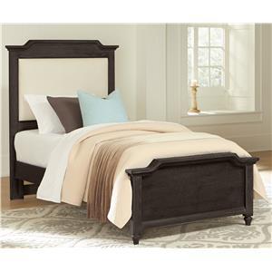 Vaughan Bassett Nantucket Twin Upholstered Bed