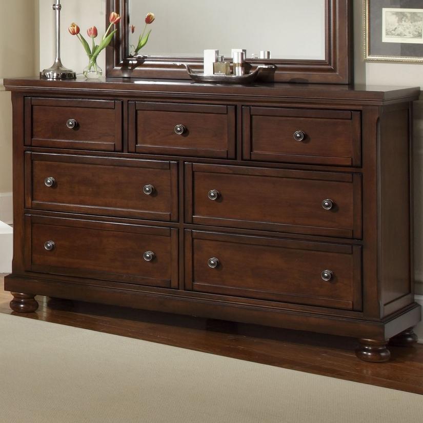 Vaughan Bassett Reflections 7 Drawer Dresser - Item Number: 530-002