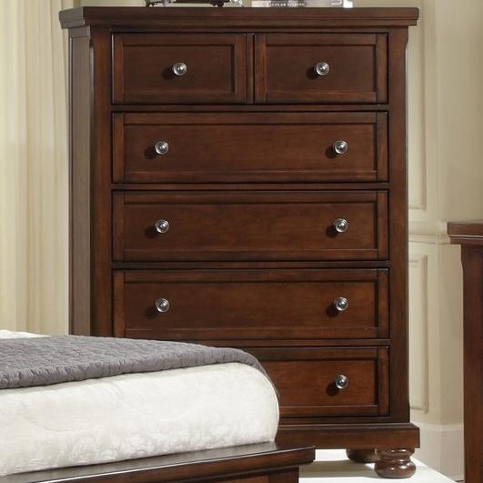 Vaughan Bassett Reflections 5 Drawer Chest - Item Number: 530-115