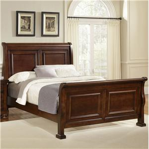 Vaughan Bassett Reflections Queen Sleigh Bed