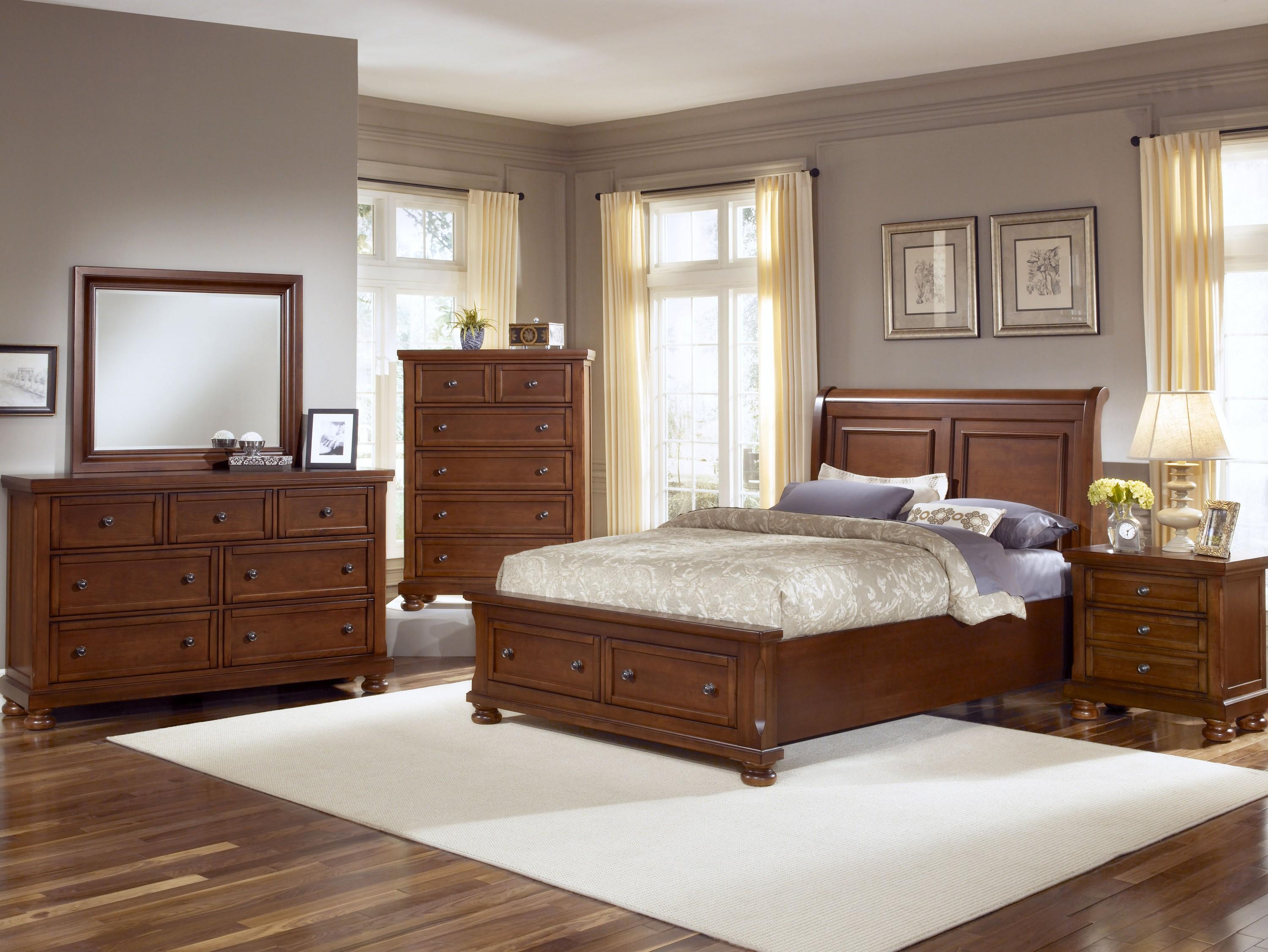 Vaughan Bassett Reflections King Bedroom Group - Item Number: 532 K Bedroom Group 1
