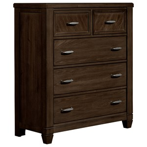Vaughan Bassett Rustic Cottage Chest of Drawers