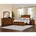 Vaughan Bassett Rustic Cottage King Bedroom Group - Item Number: 642 K Bedroom Group 2