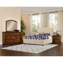 Vaughan Bassett Rustic Cottage King Bedroom Group - Item Number: 642 K Bedroom Group 5