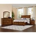 Vaughan Bassett Rustic Cottage Queen Bedroom Group - Item Number: 642 Q Bedroom Group 4