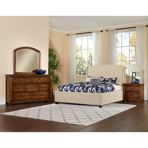 Vaughan Bassett Rustic Cottage Queen Bedroom Group