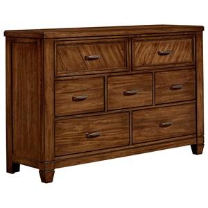 Vaughan Bassett Rustic Cottage Dresser