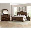Vaughan Bassett Rustic Hills King Bedroom Group - Item Number: 680 K Bedroom Group 1