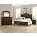 Vaughan Bassett Rustic Hills Queen Bedroom Group - Item Number: 680 Q Bedroom Group 2