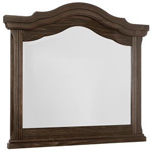 Vaughan Bassett Rustic Hills Arched Landscape Mirror