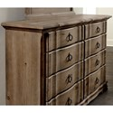 Vaughan Bassett Rustic Hills Cottage Style Dresser - 8 Drawers