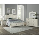 Vaughan Bassett Rustic Hills Queen Bedroom Group - Item Number: 684 Q Bedroom Group 2