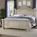 Vaughan Bassett Rustic Hills Queen Poster Bed - Item Number: 685-559+955+922
