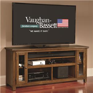 "Vaughan Bassett The Casual Collection 66"" Sound Bar Media Center"