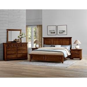 Vaughan Bassett Timber Creek King Bedroom Group