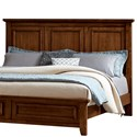 Vaughan Bassett Timber Creek Queen Mansion Headboard - King Size Shown