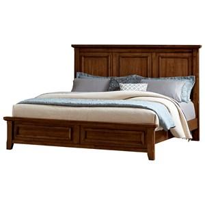 Vaughan Bassett Timber Creek Queen Mansion Bed