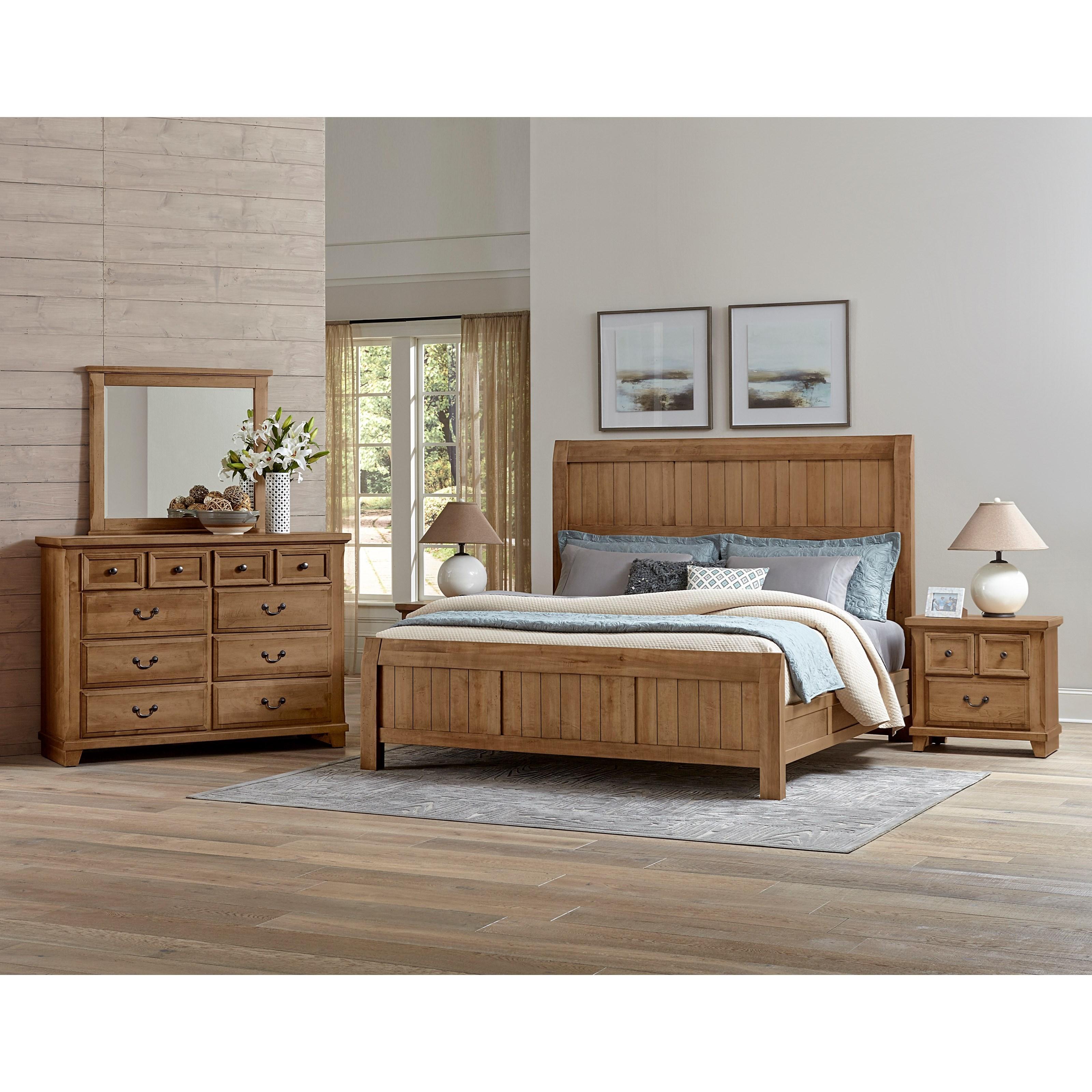 Vaughan Bassett Timber Creek Queen Bedroom Group - Item Number: 672 Q Bedroom Group 2