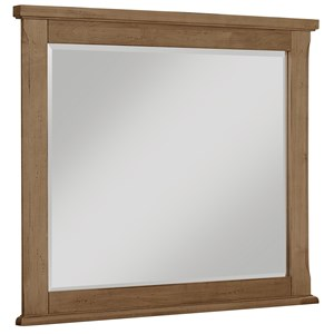 Vaughan Bassett Timber Creek Landscape Mirror - Beveled Glass