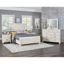 Vaughan Bassett Timber Creek Queen Bedroom Group - Item Number: 674 Q Bedroom Group 2