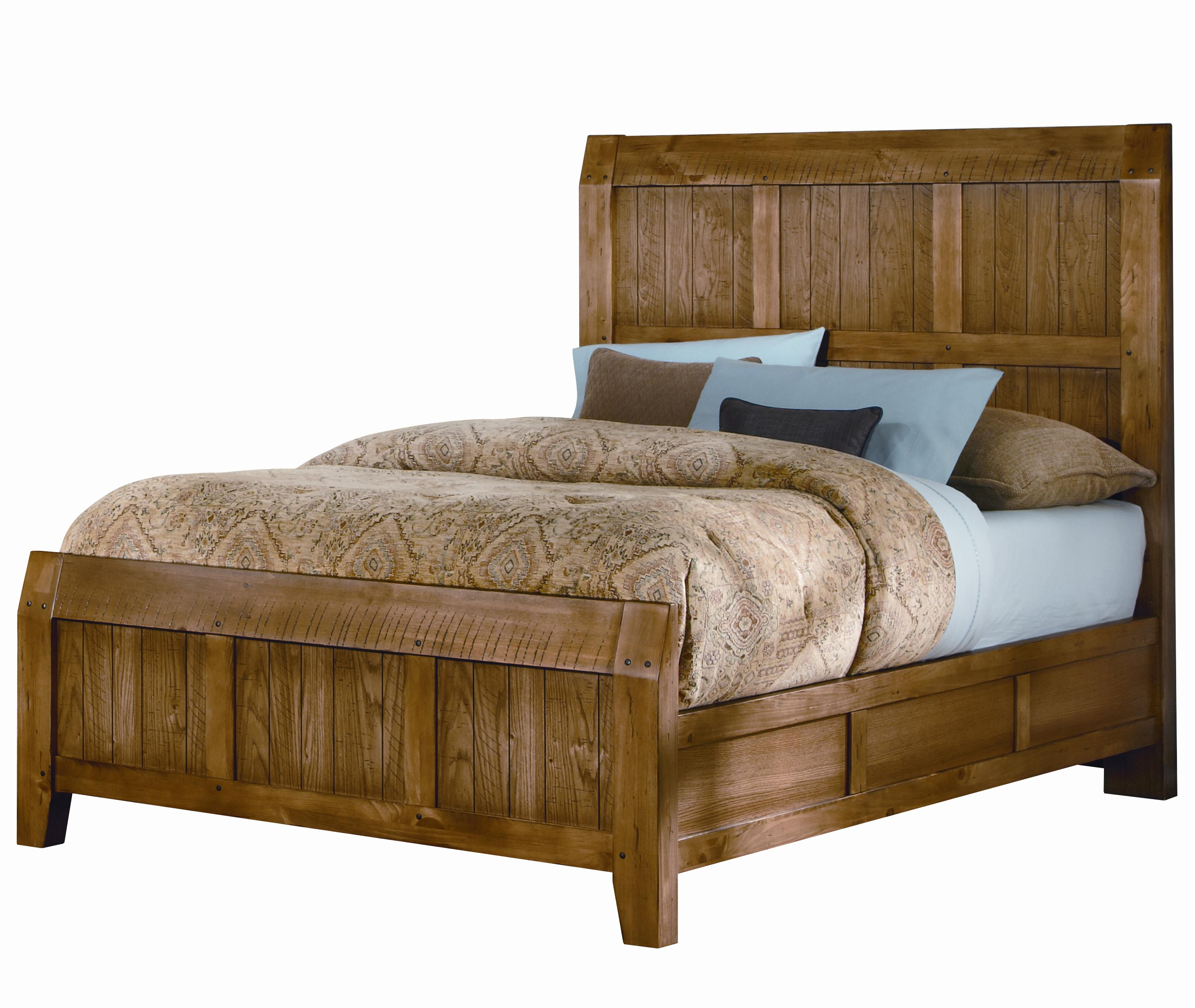 Vaughan Bassett Timber Mill King Timber Bed - Item Number: 669966722MS1