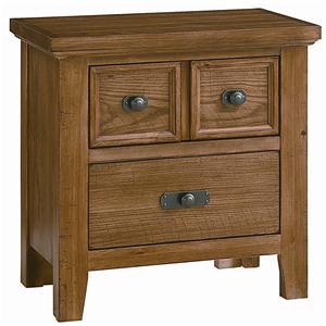 Vaughan Bassett Timber Mill Night Stand - 2 Drawers