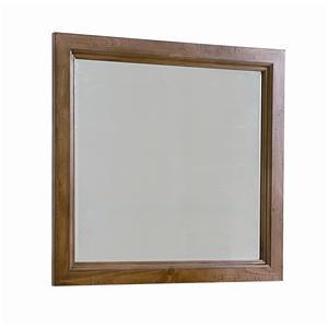 Vaughan Bassett Timber Mill Landscape Mirror - bevel glass