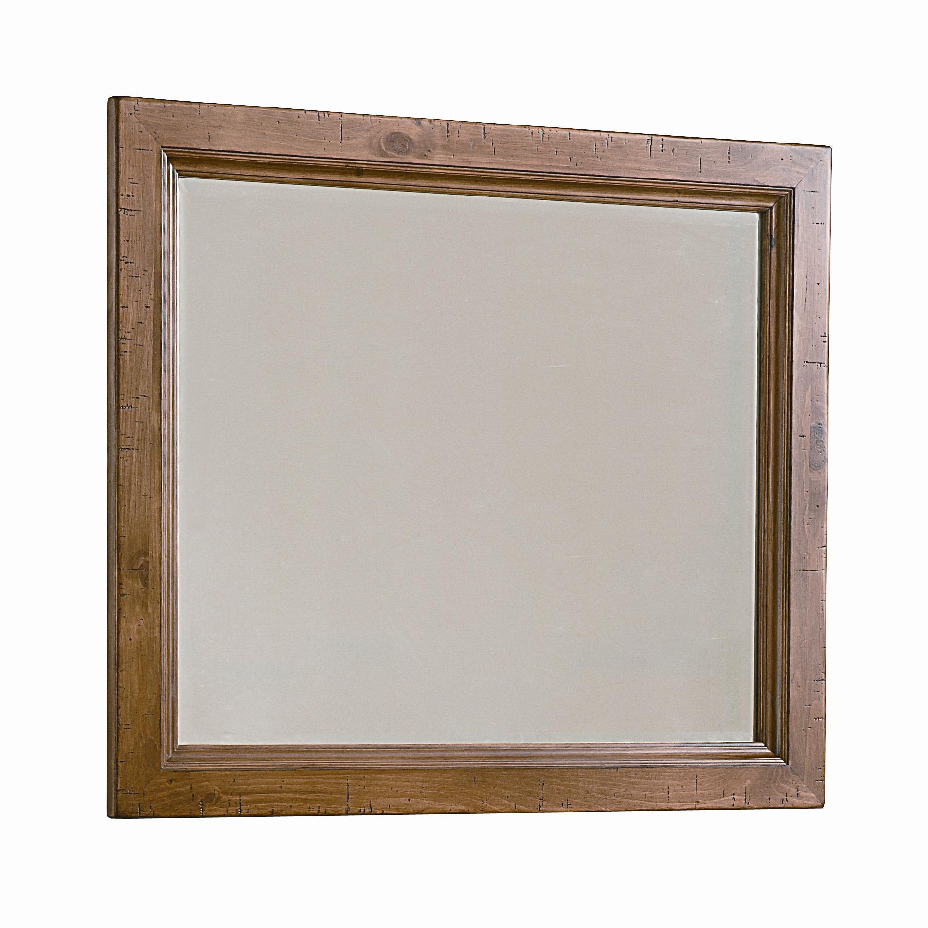 Vaughan Bassett Timber Mill Chesser Mirror - bevel glass - Item Number: BB54-446