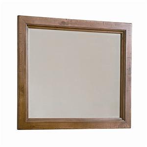Vaughan Bassett Timber Mill Chesser Mirror - bevel glass