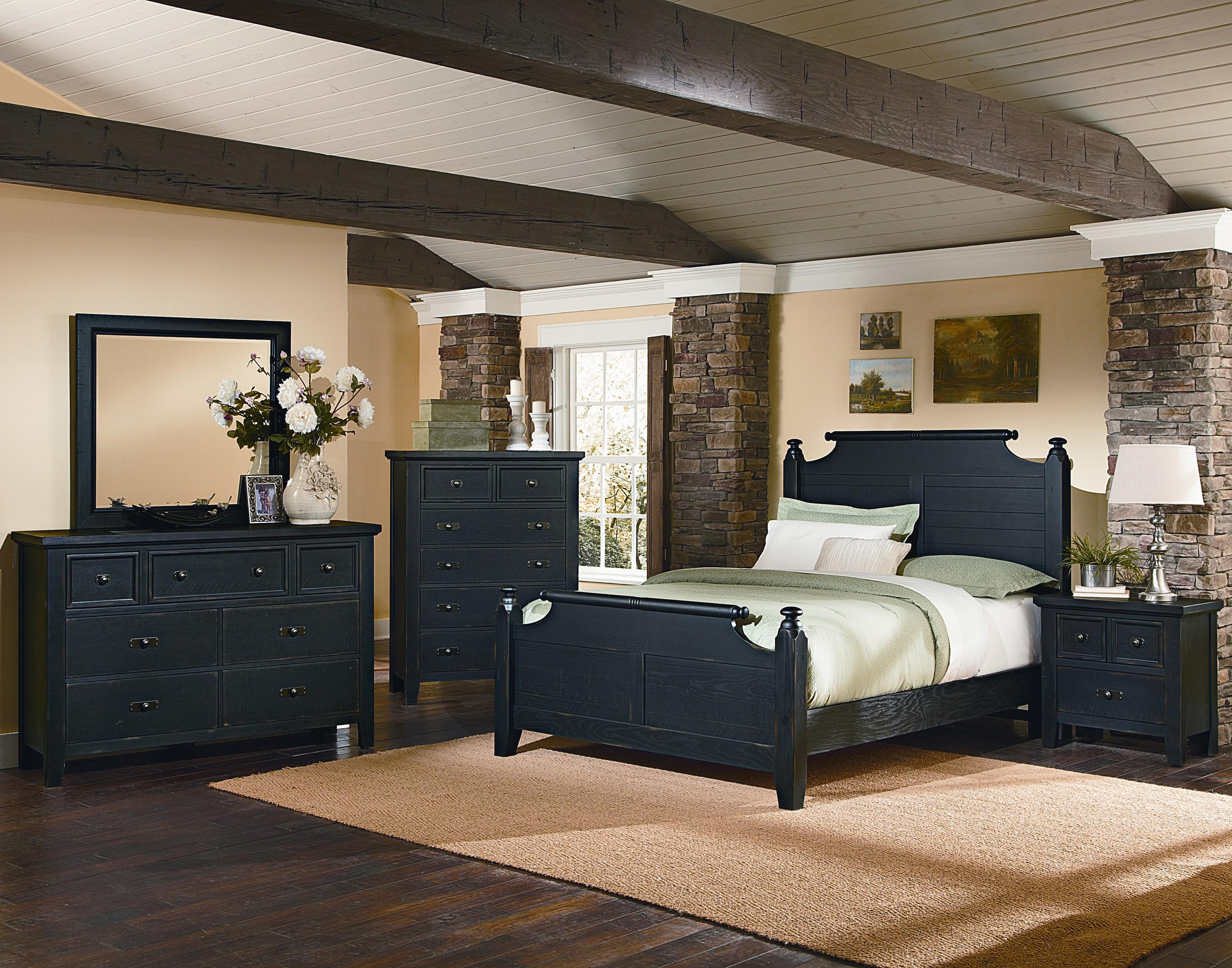 Vaughan Bassett Timber Mill King Bedroom Group - Item Number: BB56 K Bedroom Group 2