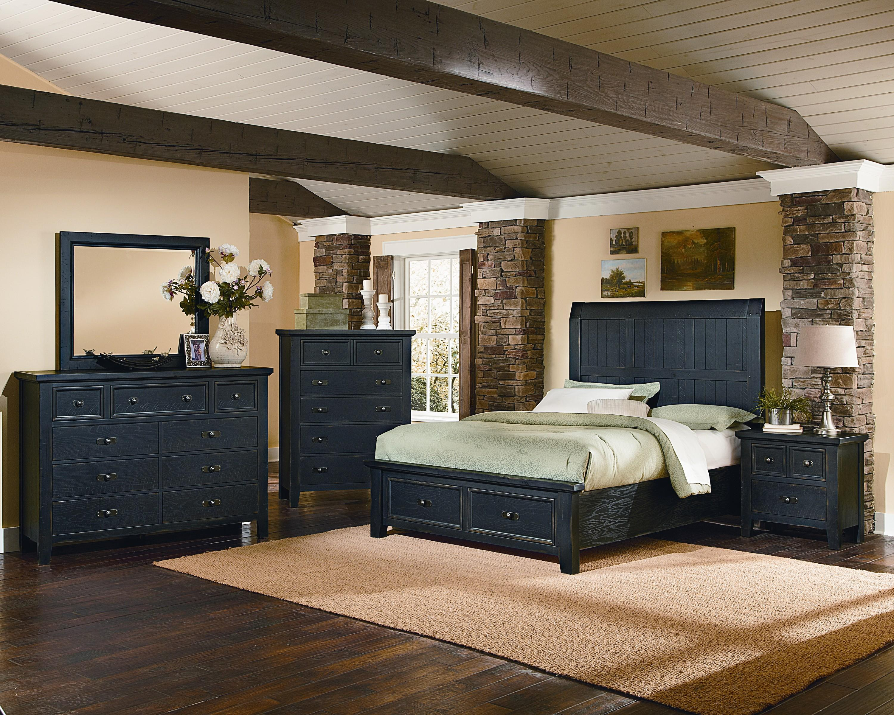 Vaughan Bassett Timber Mill King Bedroom Group - Item Number: BB56 K Bedroom Group 3