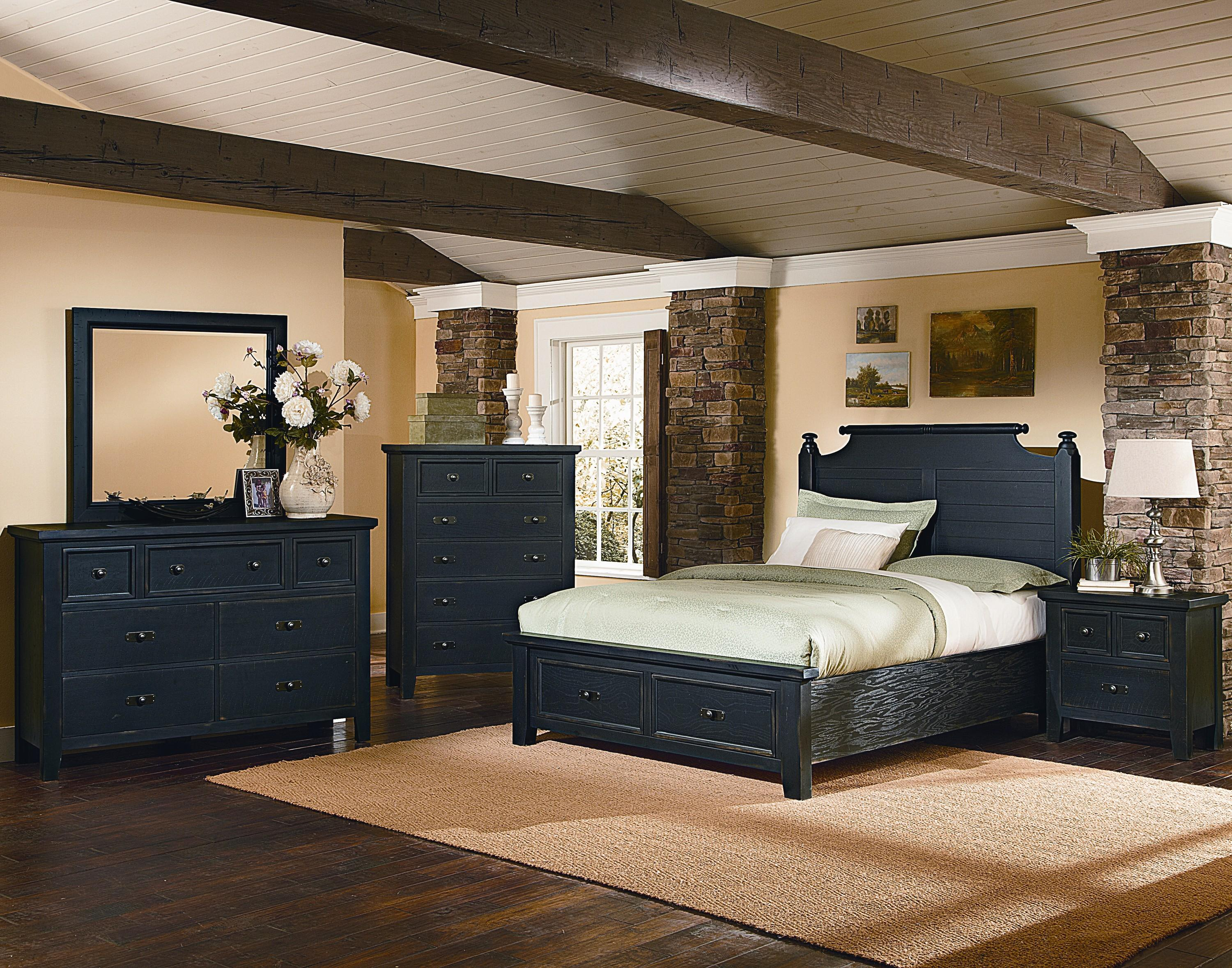 Vaughan Bassett Timber Mill King Bedroom Group - Item Number: BB56 K Bedroom Group 4