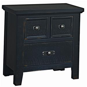 Vaughan Bassett Timber Mill Night Stand - 2 Drawers