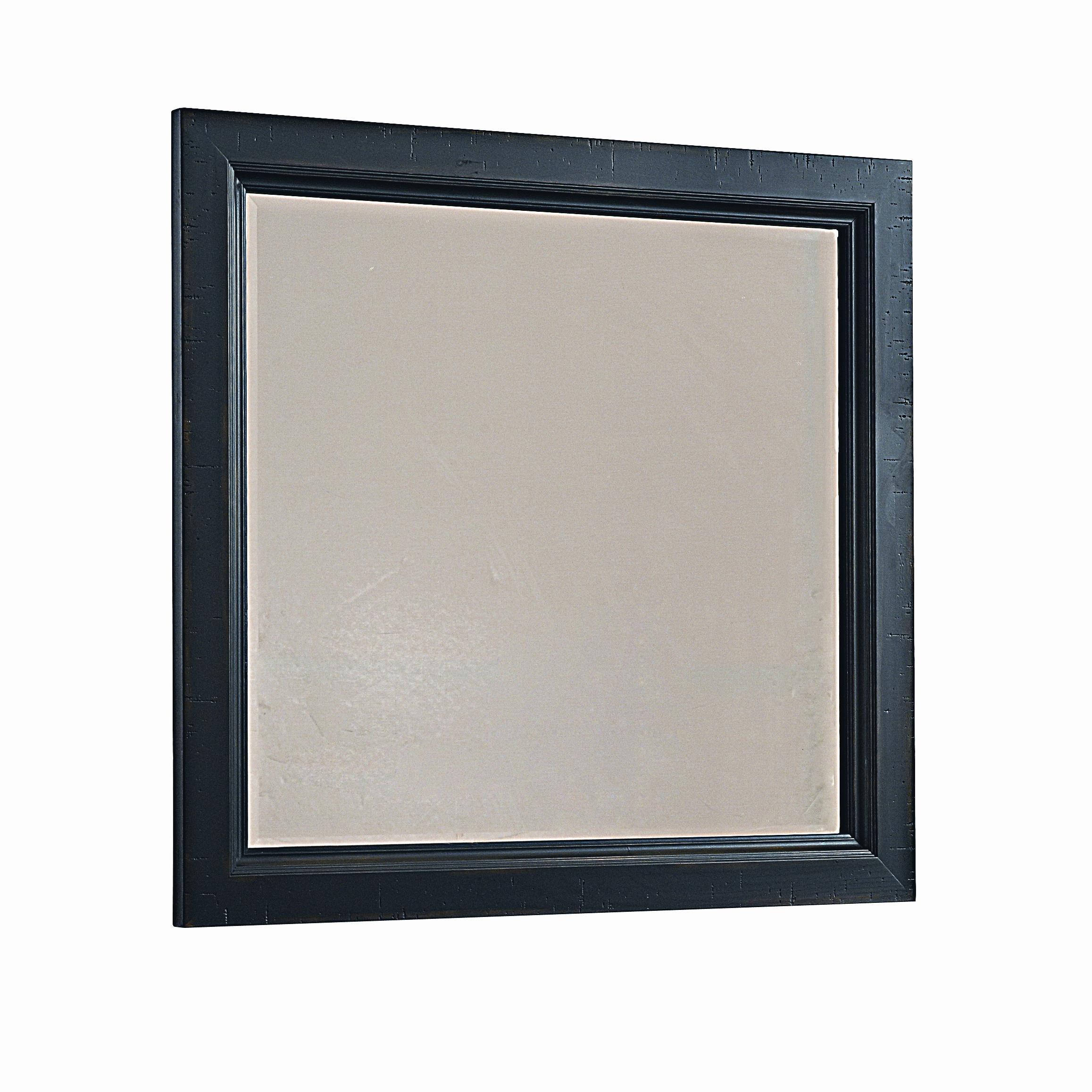 Vaughan Bassett Timber Mill Landscape Mirror - bevel glass - Item Number: BB56-445