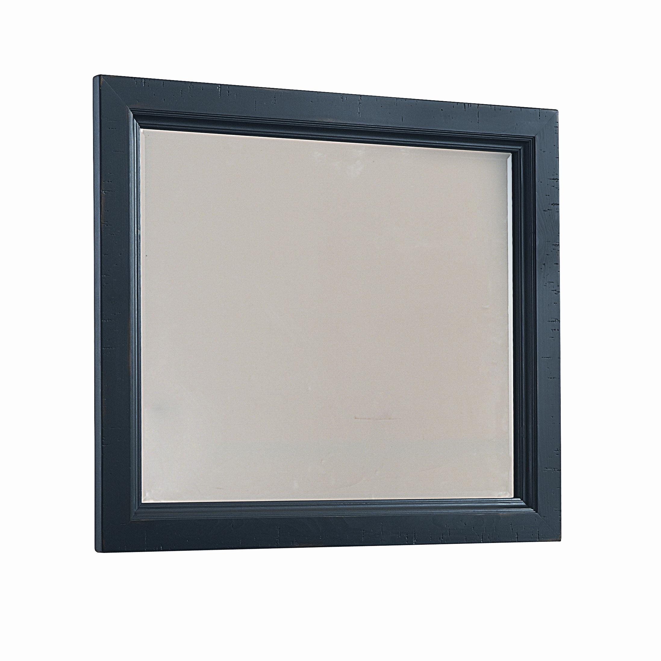 Vaughan Bassett Timber Mill Chesser Mirror - bevel glass - Item Number: BB56-446